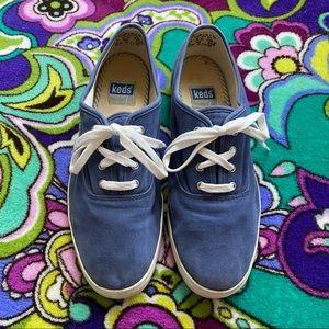 KEDS Soft Blue tennis shoe